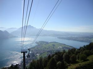 Mount Rigi - cable car