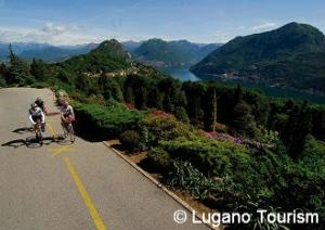 Cycling in Lugano area